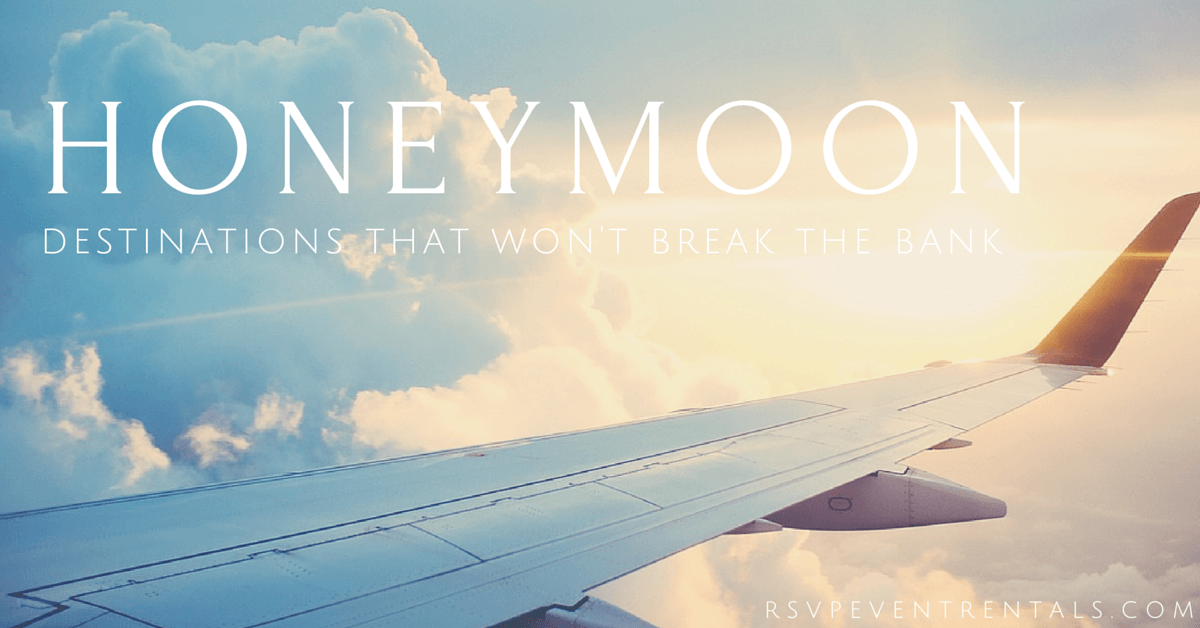 3 honeymoon destinations